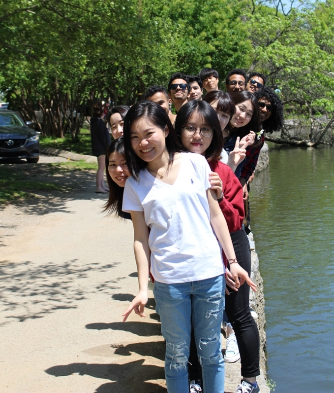 Group at River walk
